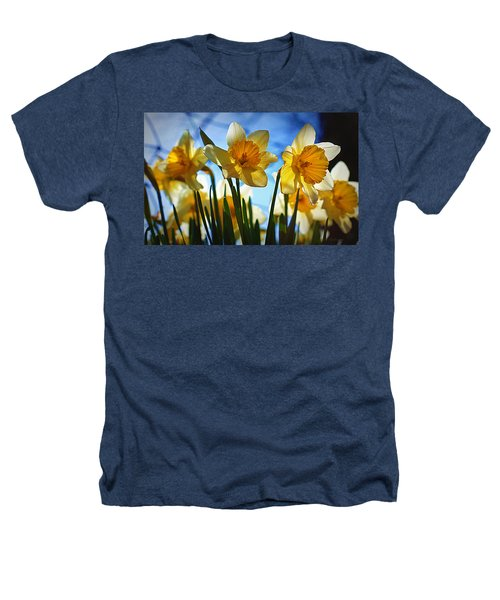 Hello Spring Heathers T-Shirt by Cricket Hackmann