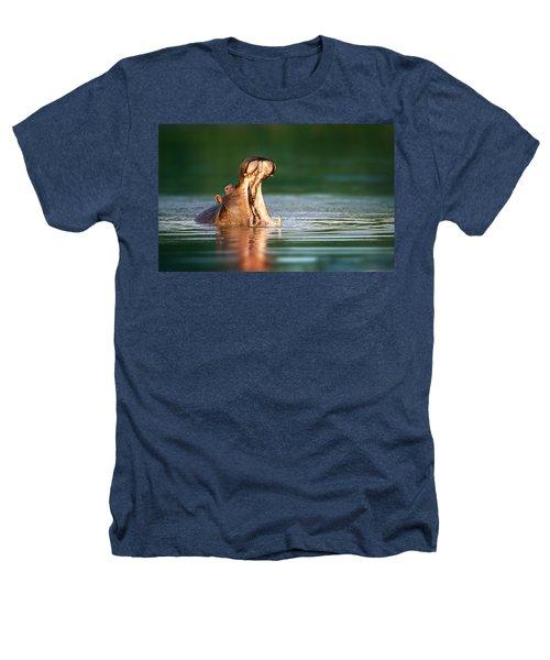 Hippopotamus Heathers T-Shirt by Johan Swanepoel