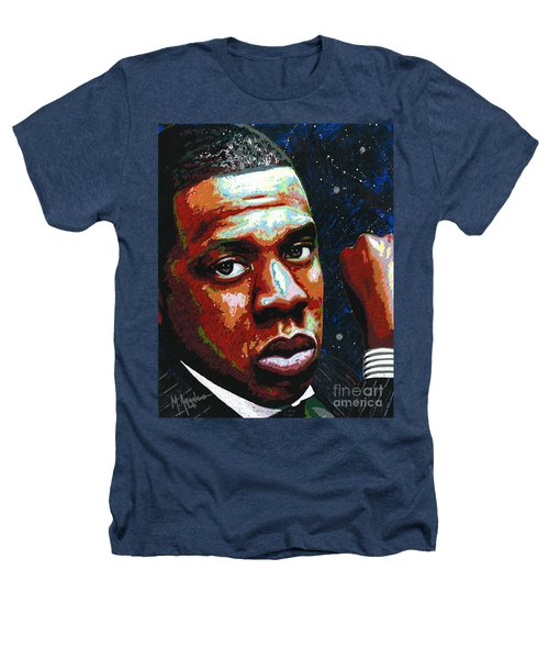 I Am Jay Z Heathers T-Shirt by Maria Arango