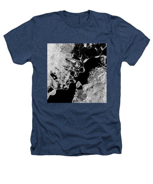 Ice Face Heathers T-Shirt by Konstantin Sevostyanov