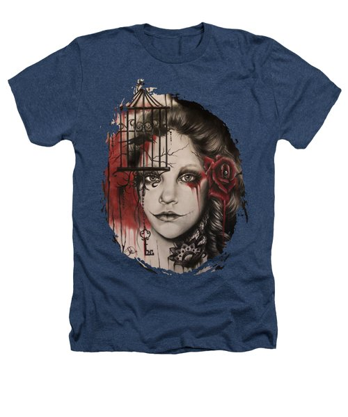 Inner Demons  Heathers T-Shirt by Sheena Pike