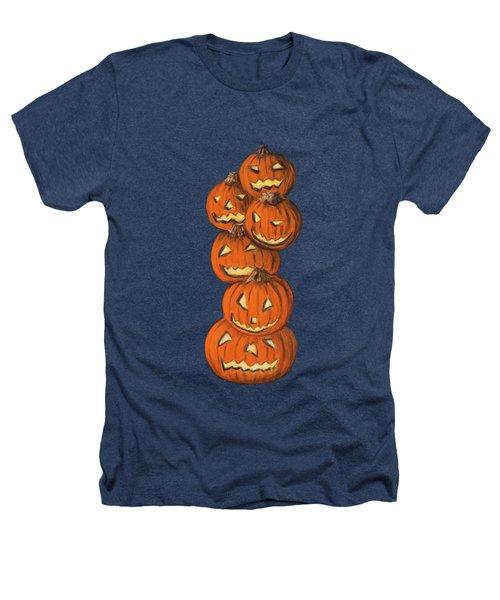 Jack-o-lantern Heathers T-Shirt by Anastasiya Malakhova