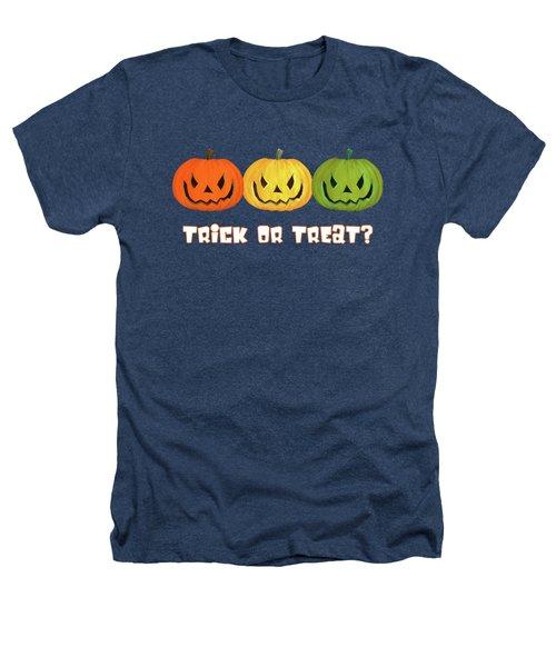 Jack-o-lanterns Heathers T-Shirt by Methune Hively