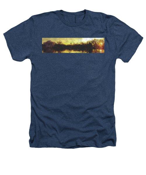 Jefferson Rise Heathers T-Shirt by Reuben Cole