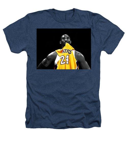 Kobe Bryant 04c Heathers T-Shirt by Brian Reaves