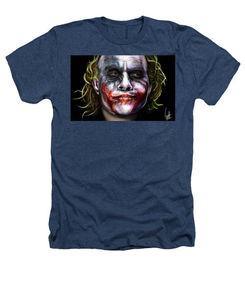 Let's Put A Smile On That Face Heathers T-Shirt by Vinny John Usuriello