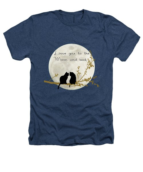 Love You To The Moon And Back Heathers T-Shirt by Linda Lees