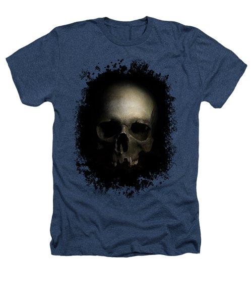 Male Skull Heathers T-Shirt by Jaroslaw Blaminsky