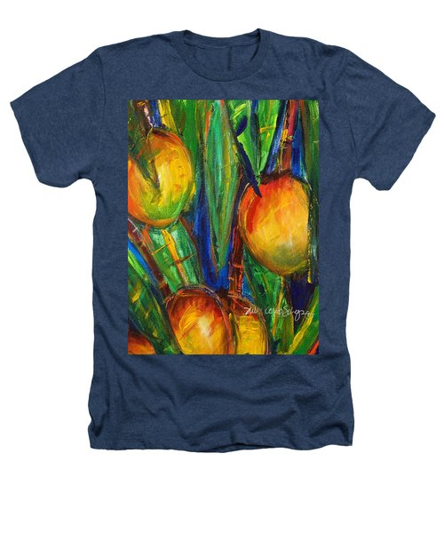 Mango Tree Heathers T-Shirt by Julie Kerns Schaper - Printscapes