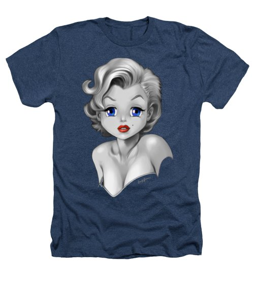 Marilyn Manroe Heathers T-Shirt by Frank Bonnici