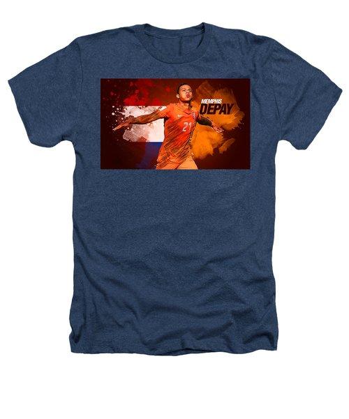Memphis Depay Heathers T-Shirt by Semih Yurdabak