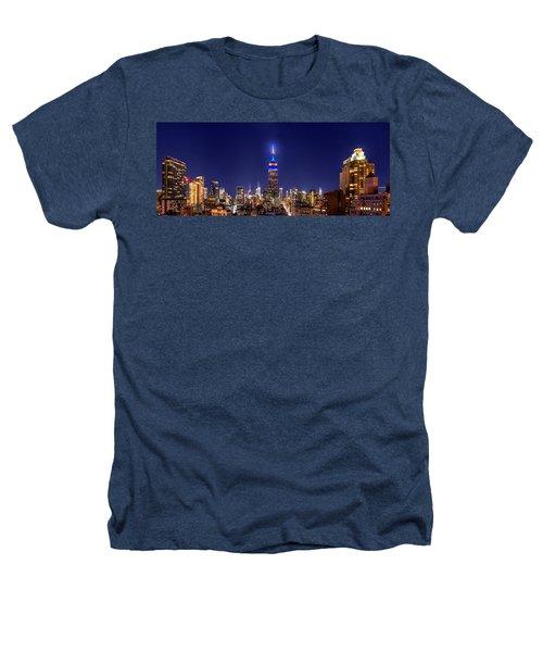 Mets Dominance Heathers T-Shirt by Az Jackson