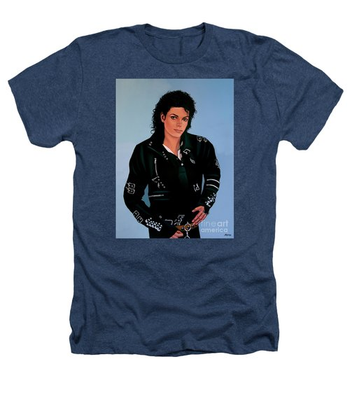 Michael Jackson Bad Heathers T-Shirt by Paul Meijering