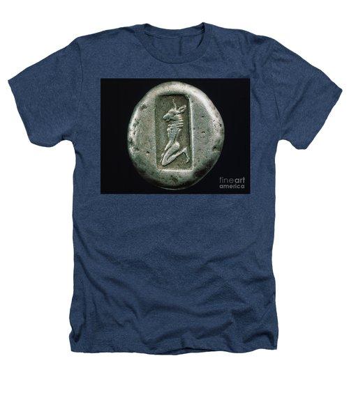Minotaur On A Greek Coin Heathers T-Shirt by Granger