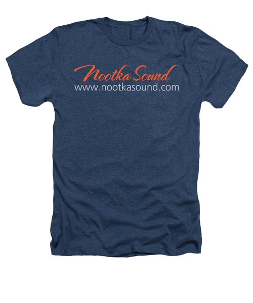 Nootka Sound Logo #7 Heathers T-Shirt by Nootka Sound
