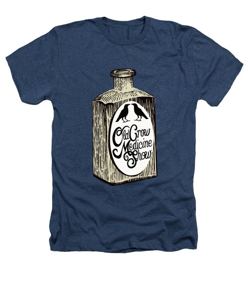 Old Crow Medicine Show Tonic Heathers T-Shirt by Little Bunny Sunshine