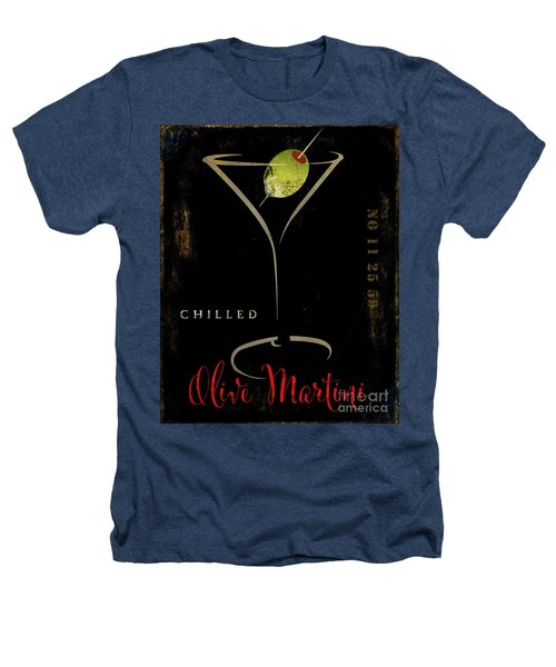 Olive Martini Heathers T-Shirt by Mindy Sommers