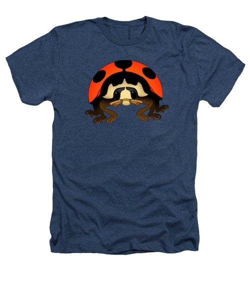 Orange Bug Heathers T-Shirt by Sarah Greenwell