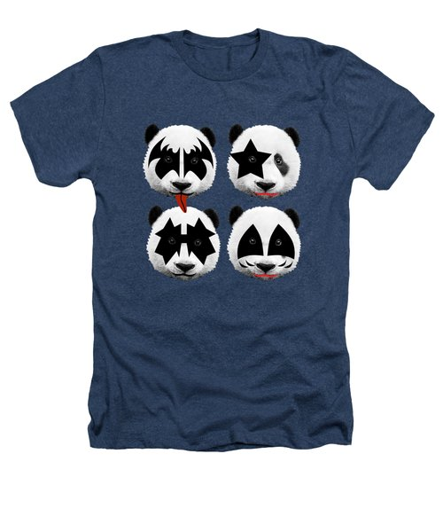 Panda Kiss  Heathers T-Shirt by Mark Ashkenazi