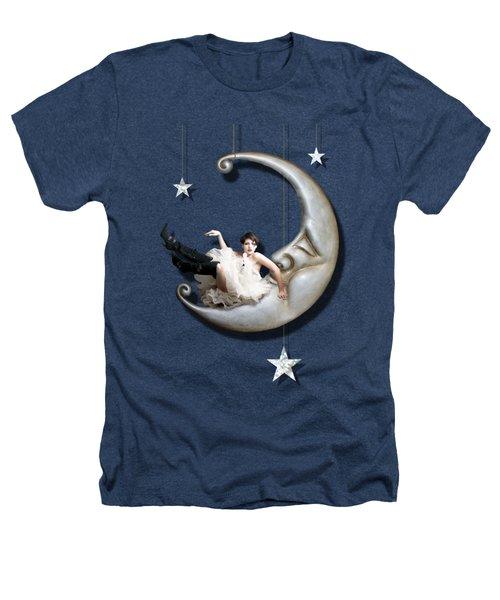 Paper Moon Heathers T-Shirt by Linda Lees