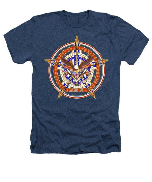 Patroitic-veteran Heathers T-Shirt by Bill Campitelle