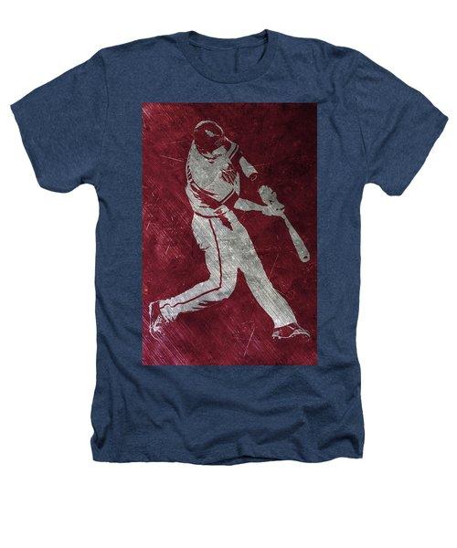 Paul Goldschmidt Arizona Diamondbacks Art Heathers T-Shirt by Joe Hamilton