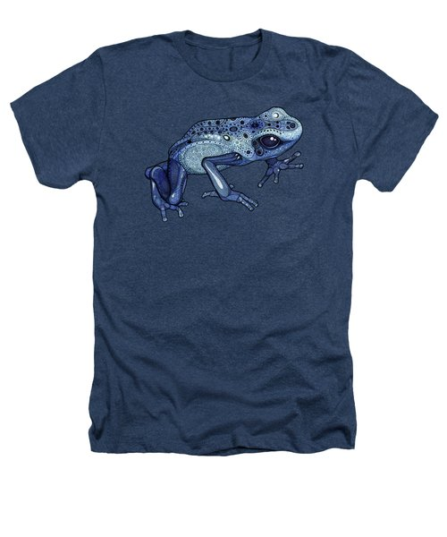 Poison Dart Frog Heathers T-Shirt by ZH Field