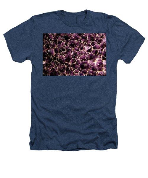 Purple Quartz  Amethyst Heathers T-Shirt by LeeAnn McLaneGoetz McLaneGoetzStudioLLCcom