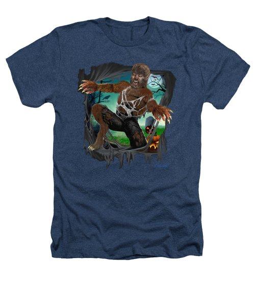 Rip Roaring Werewolf Heathers T-Shirt by Glenn Holbrook