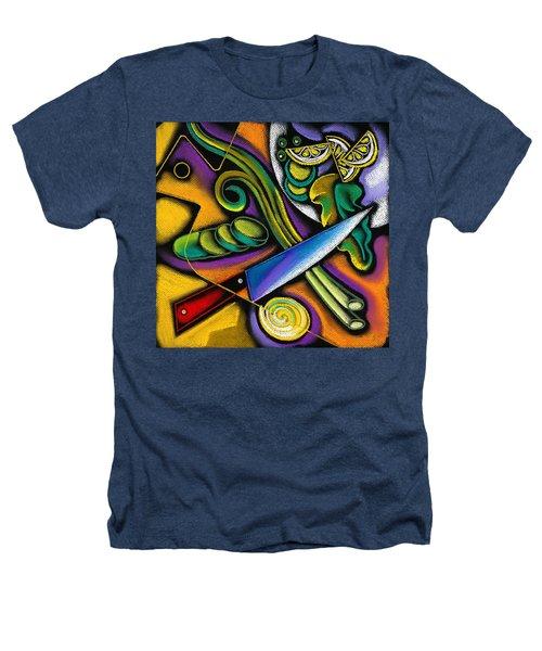 Tasty Salad Heathers T-Shirt by Leon Zernitsky
