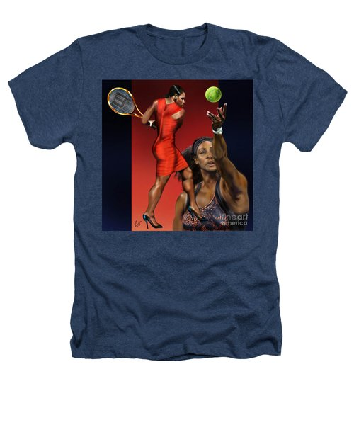Sensuality Under Extreme Power - Serena The Shape Of Things To Come Heathers T-Shirt by Reggie Duffie