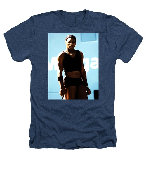Serena Williams Match Point IIi Heathers T-Shirt by Brian Reaves