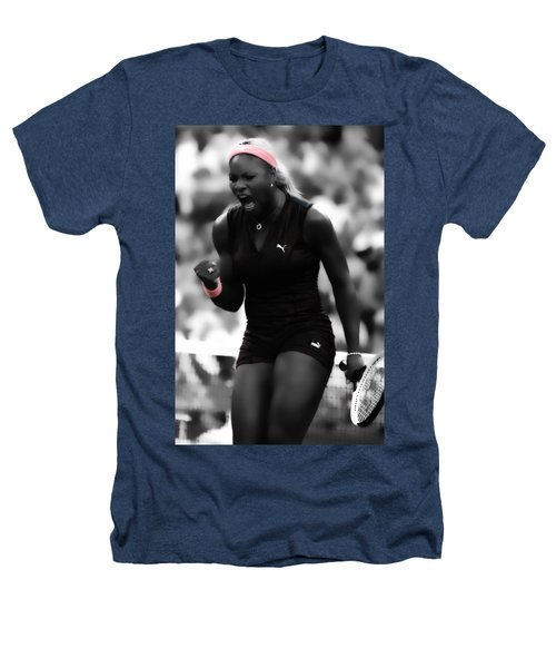 Serena Williams On Fire Heathers T-Shirt by Brian Reaves