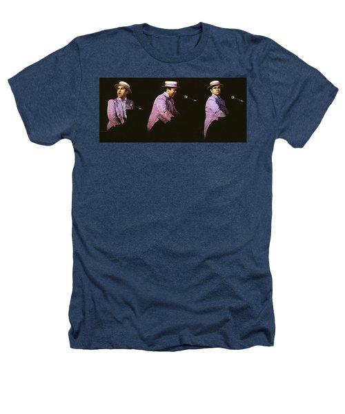 Sir Elton John 3 Heathers T-Shirt by Dragan Kudjerski