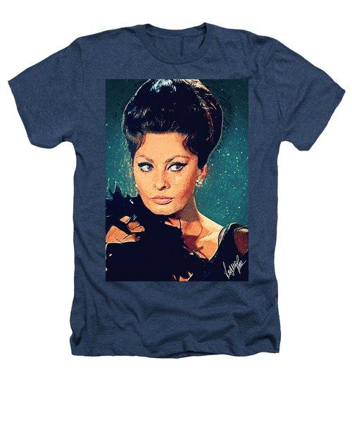 Sophia Loren Heathers T-Shirt by Taylan Apukovska
