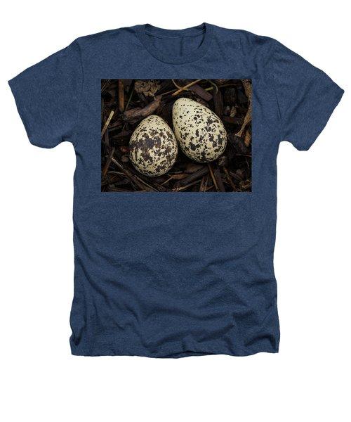 Speckled Killdeer Eggs By Jean Noren Heathers T-Shirt by Jean Noren