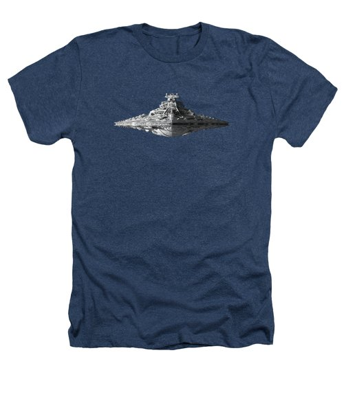 Star Destroyer Heathers T-Shirt by Ian King