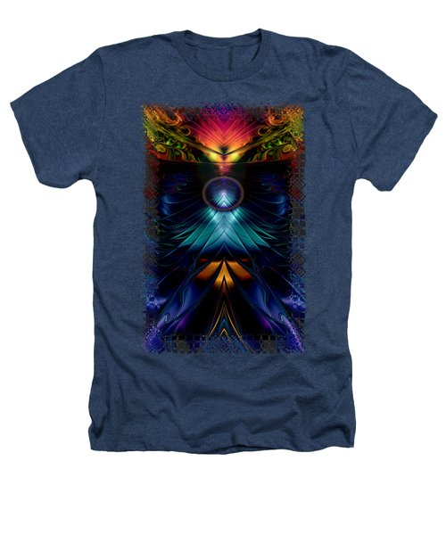 Stargatez Symmetrical Abstract Heathers T-Shirt by Sharon and Renee Lozen