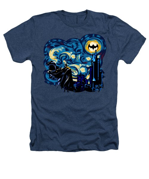 Starry Knight Heathers T-Shirt by Three Second