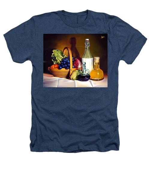 Still Life In Oil Heathers T-Shirt by Patrick Anthony Pierson
