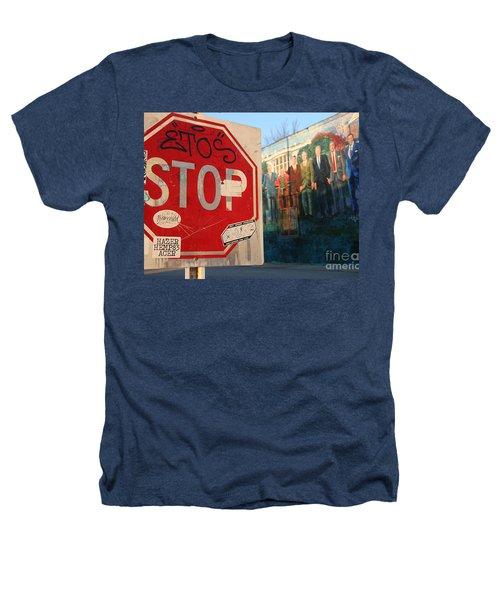 Street Art Washington D.c.  Heathers T-Shirt by Clay Cofer