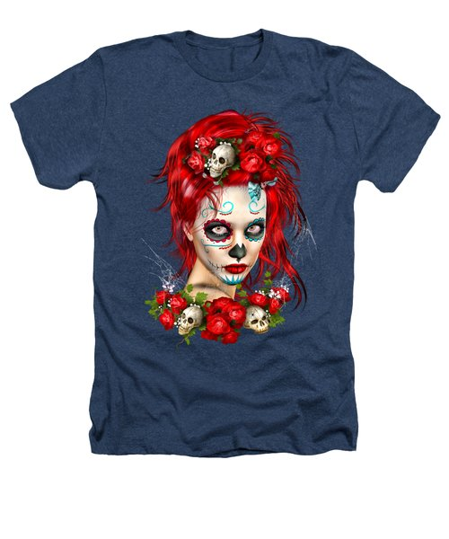 Sugar Doll Red Heathers T-Shirt by Shanina Conway