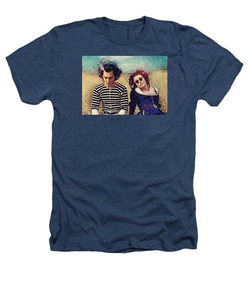 Sweeney Todd And Mrs. Lovett Heathers T-Shirt by Taylan Apukovska