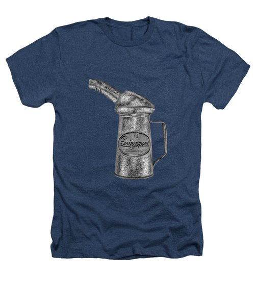 Swingspout Oil Can Bw Heathers T-Shirt by YoPedro
