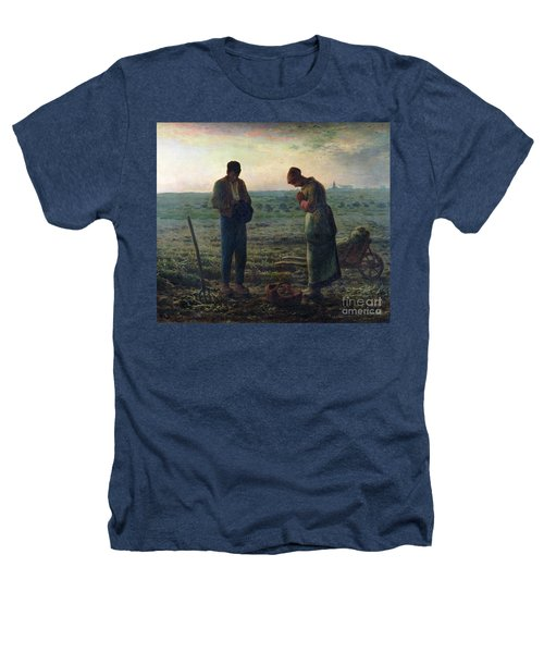 The Angelus Heathers T-Shirt by Jean-Francois Millet