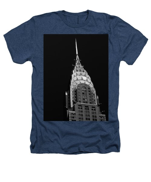The Chrysler Building Heathers T-Shirt by Vivienne Gucwa