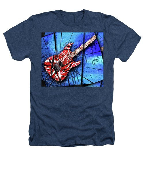 The Frankenstrat Vii Cropped Heathers T-Shirt by Gary Bodnar