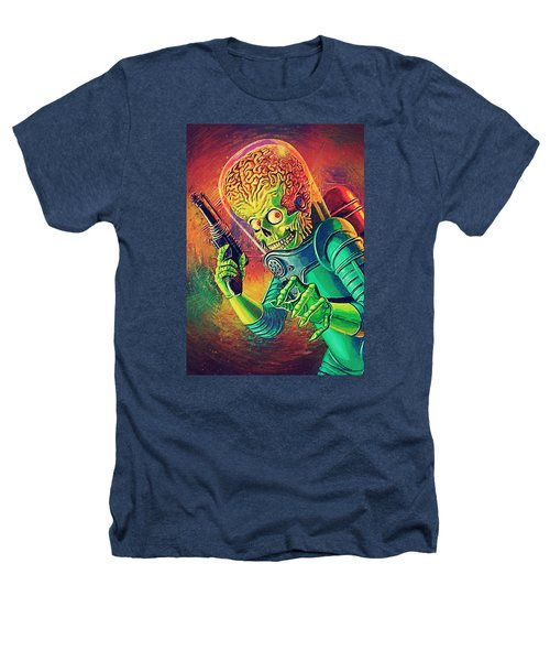 The Martian - Mars Attacks Heathers T-Shirt by Taylan Apukovska