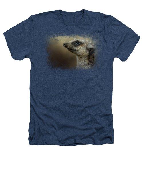 The Meerkat Heathers T-Shirt by Jai Johnson