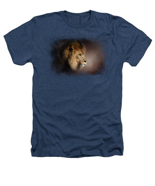 The Mighty Lion Heathers T-Shirt by Jai Johnson